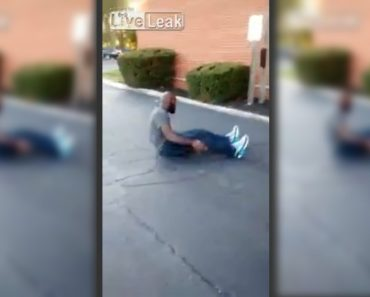 Watch: Man in Foiled Rape Attempt Crawls on the Ground after Jumping from Window