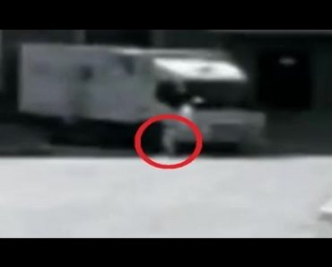 Watch: Toddler Miraculously Survives being Hit by a Delivery Van