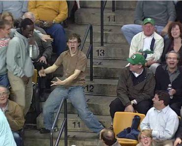 "Celtics Fan Steals the Show; Rocks to Bon Jovi's ""Livin' on a Prayer"""