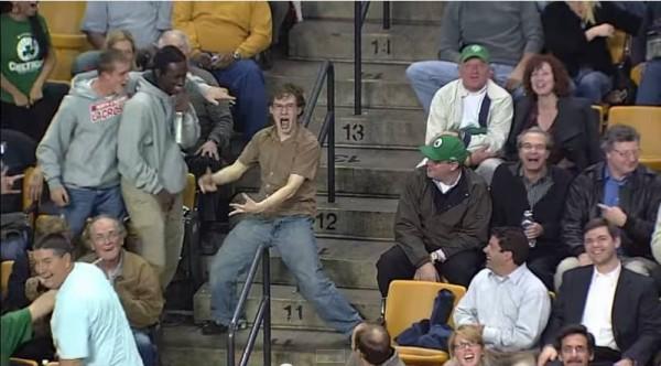 Celtics Fan Livin on a Prayer