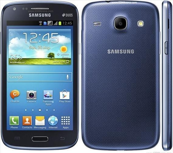 Samsung Galaxy Core i8262 Blue 01