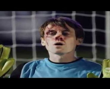 Incredible Video of Goalkeeper Blocking 5 Penalty Goals with his FACE!