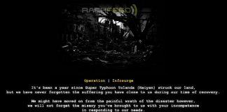 Operation Infosurge Anonymous Leyte