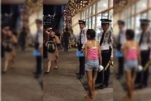 Street Children Abuse Security Guard in SM North EDSA