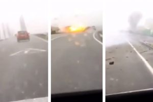 After Church Robbery, Getaway Car Gets Hit by Lightning!