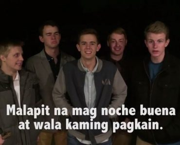 Americans Try Pinoy-style Carolling; Sing Tagalog and Bisaya Christmas Songs