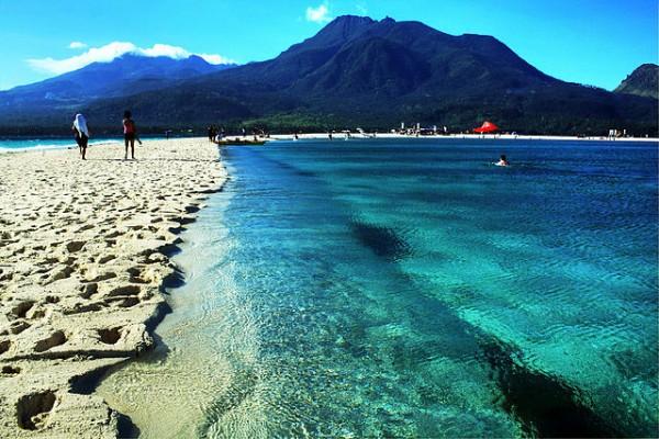 Camiguin island coastline