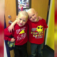 first grader helps friend with cancer by shaving his head