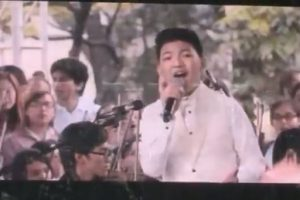 """Watch the Unseen Footage of Darren Espanto Singing """"Tell the World of His Love"""""""