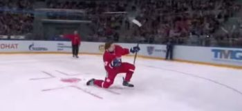 Must-Watch: Russian Player Does Epic Ice Hockey Trick