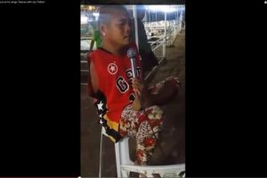 """Pinoy Without Arms Sings """"Dance with My Father"""""""