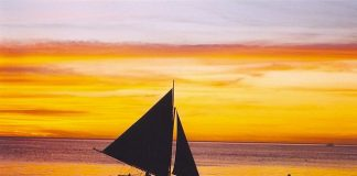 Sunset Borocay White Beach