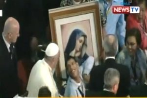 Pinoy with Cerebral Palsy Speaks to Pope Francis