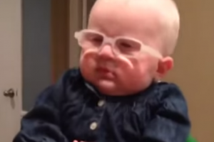 Incredible Moment Baby with Albinism Sees Mommy for the First Time