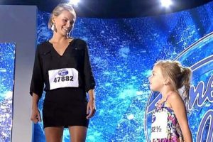 Mom and 3-year-old Daughter Get Golden Tickets to American Idol