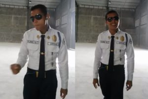 """WATCH: Davao City Security Guard's Amazing Cover of """"Back at One"""""""