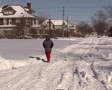 Greedy Neighbors Threaten the Man Who Walks 21 Miles to Work