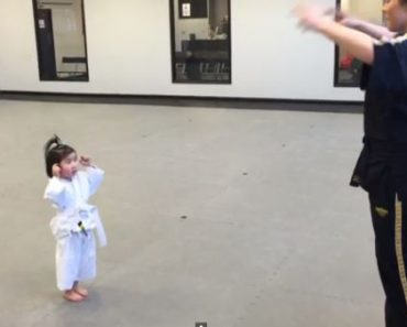 VIRAL: Adobrable 3-Year-Old Taekwondo Student Is The Newest Internet Sensation