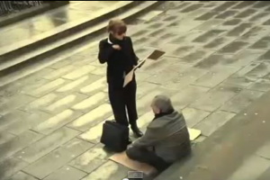 The Power of Words: Blind Beggar Received Lots of Money after Lady Changed His Sign