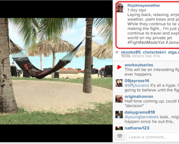 Mayweather Laughs at Pacquiao Fight Reports, Says He Plans to Explore World on Private Jet