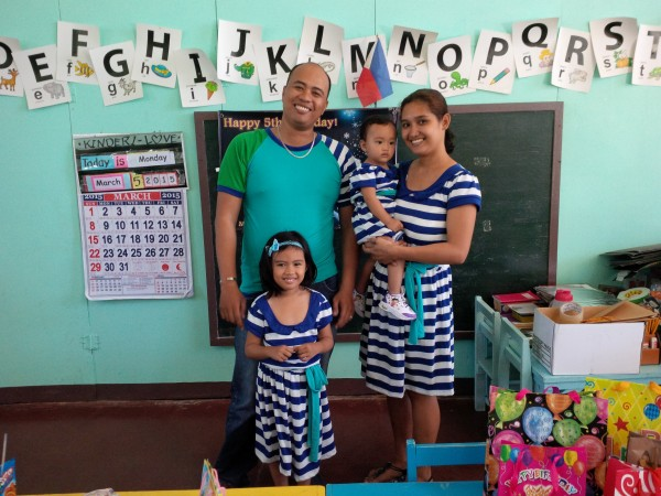 matching clothes family