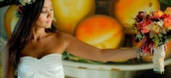 Kitchie Nadal Rocks in P799 RTW Wedding Gown