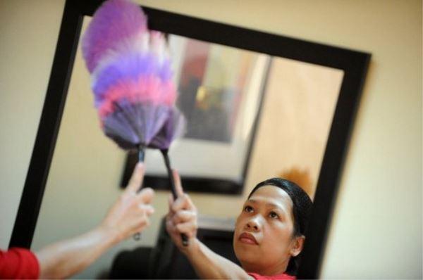 Pinay domestic helper