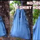 DIY T-shirt Hobo bags