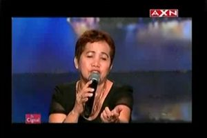Pinay Vegetable Vendor Receives Standing Ovation on 'Asia's Got Talent'