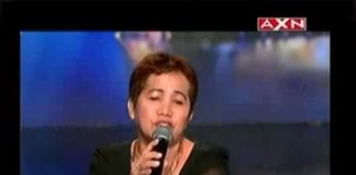 Felicitas Garcia on 'Asia's Got Talent'