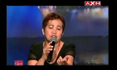 Felicitas Garcia on 'Asia's Got Talent'