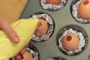 Must Watch: How to Bake a Cake inside an Egg