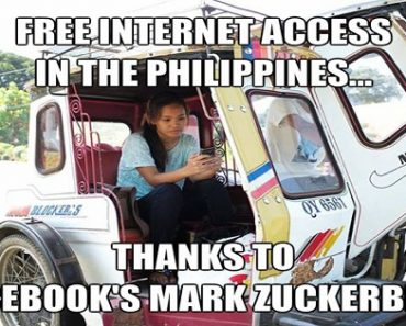 Mark Zuckerberg Offers Free Internet Access in the Philippines
