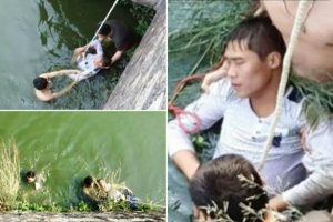 """Because His Bride is """"Too Ugly"""", Runaway Groom Attempts to Drown Himself"""