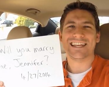 Watch: Man's 365-Day Proposal Video Goes Viral