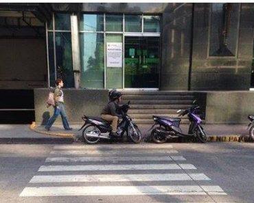 Netizen Complains About Riders Blocking Pedestrian Lane