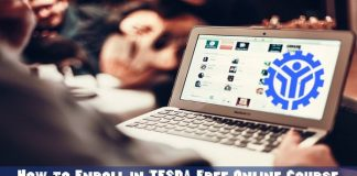 How to Enroll in TESDA Free Online Course