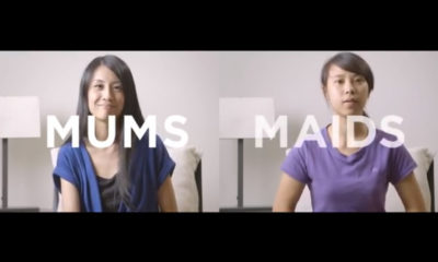 moms and maids viral video
