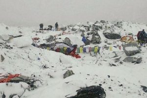 VIDEO: Avalanche Hits Mt. Everest after Massive Earthquake in Nepal