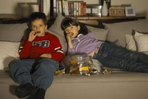 Children Who Watch More Than an Hour of TV a Day are More Likely to be Obese