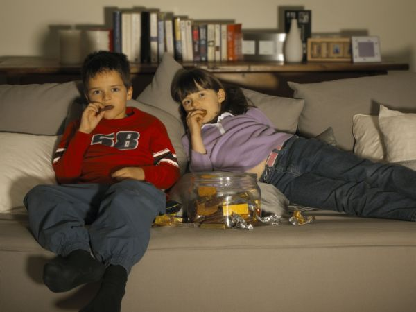childhood obesity and tv watching