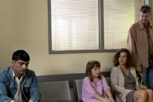 This Family Feared the Man at the Waiting Area…Not Realizing He was Their Hero
