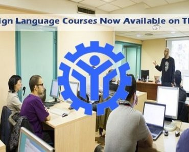 Foreign Language Courses Now Available on TESDA