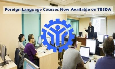 tesda foreign language courses