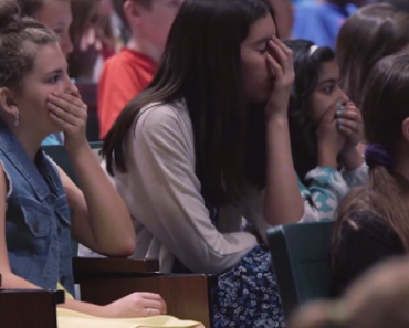 Professional Wrestler Sends Entire Student Body to Tears…with an Extraordinary Tribute