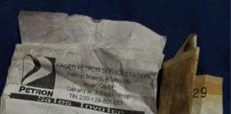 Petron gas boy victimises customer