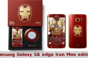 "Coolest Smartphone? The Samsung Galaxy S6 Edge ""Iron Man"" Edition"