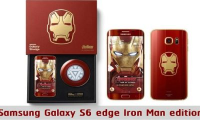 "Coolest Smartphone? The Samsung Galaxy S6 Edge ""Iron Man"" Edition"