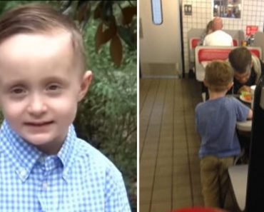This Kid Saw a Homeless Man Standing Outside a Restaurant. What He Did Next Will Melt Your Heart!