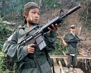 11-year-old NPA Member Surrenders to Army Soldiers